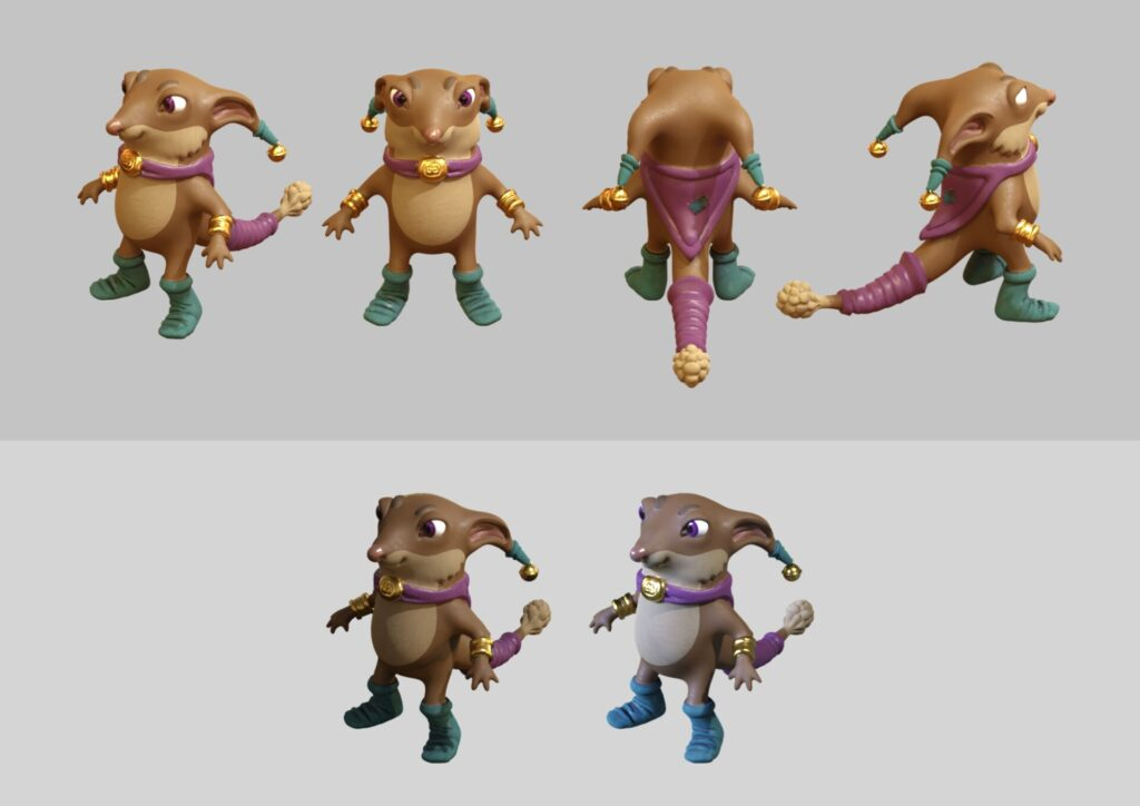Sock Elf Creature Concept