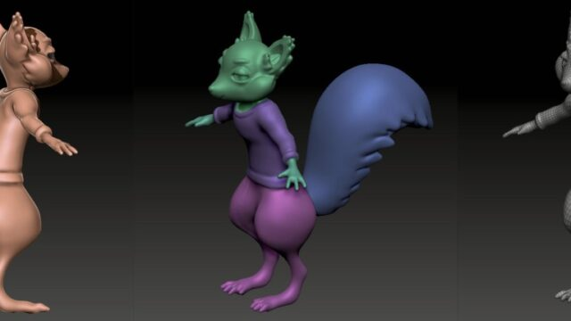 squirrelcharacter3dwip