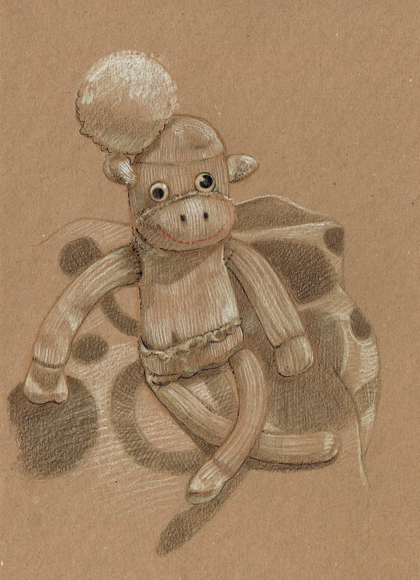 drawingsockmonkey
