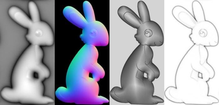 rabbitnormalmaptest