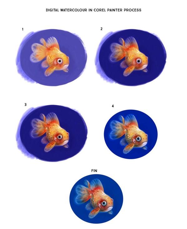 paintergoldfishstudy