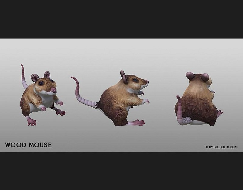 woodmouse3d