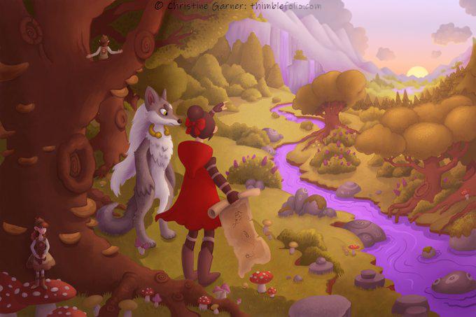 Theadventuresofwolfandhoodfoggy