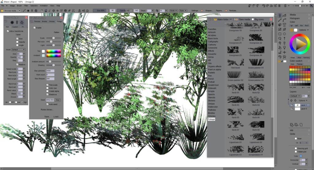 pdhowlerfoliagebrushes